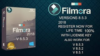WONDERSHARE FILMORA 8.5   FULL CRACK MỚI NHẤT 2018 by DEVINC NGUYỄN