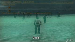 Metal Gear Solid Peace Walker Demo -PSP- Tutorial Mission [1/3] [HD]