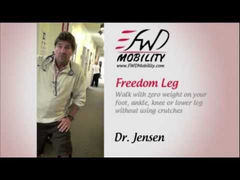 Physicians review and recommend the Freedom Leg Brace