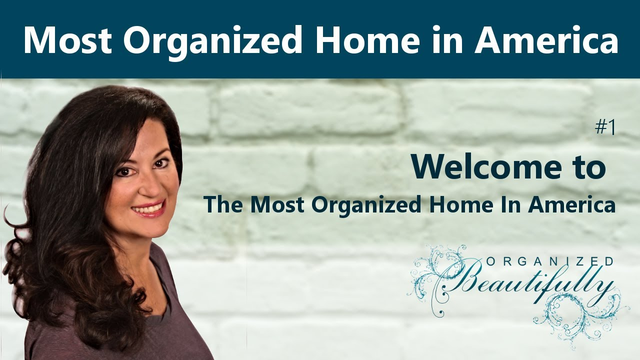 Welcome to the most organized home in america youtube The most organized home