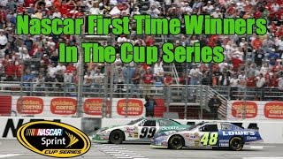 Nascar First Time Winners In The Cup Series