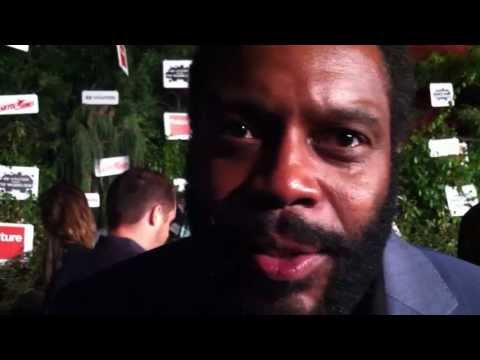 Is Chad Coleman worried that his phone might be tapped?