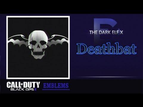 black ops 2 emblem deathbat sevenfold avenged youtube