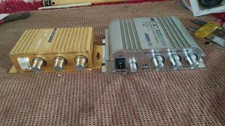 Bung xem nội thất và test hai chiếc âm ly mini 12v giá rẻ Hi-Fi & Son169  Chế Tv