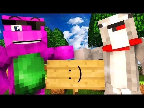 HOW TO WIN IN MINECRAFT!   Minecraft Tips With Barney and Ross