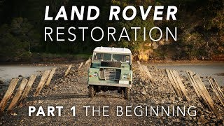 Land Rover Restoration Part 1 - Introduction