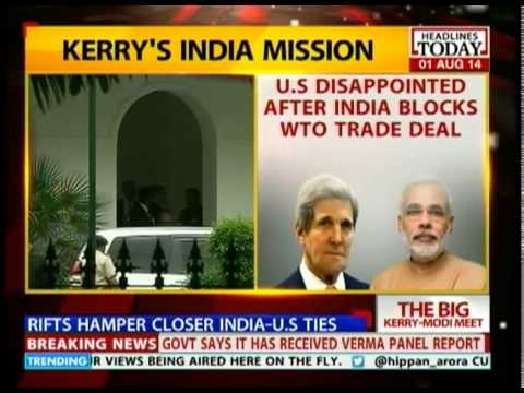 US Secretary, John Kerry meets PM Modi