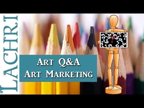 Art Marketing Q&A - Tips for artists w/ Lachri