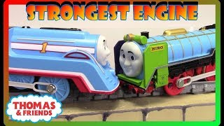 The World's Strongest Engine #36 THOMAS AND FRIENDS Trackmaster Plarail Patchwork Hiro Thomas