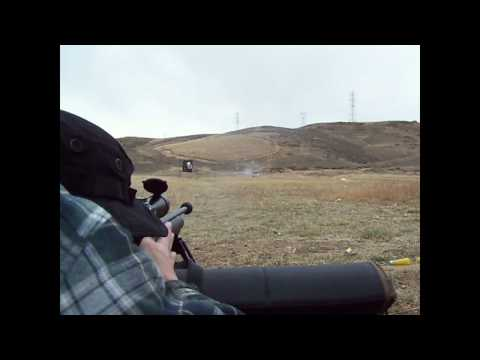 Shooting with Remington 700 SWS