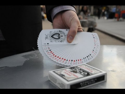 Card Tricks: The Thumb Fan Tutorial [HD]