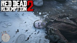 The Corpse of Micah Bell - Red Dead Redemption 2