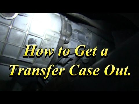 Transfer Case Remove Install Help