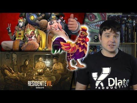 [xDigest новостей] Бесплатная неделя Overwatch, Лунный петух в HotS и выход Resident Evil 7