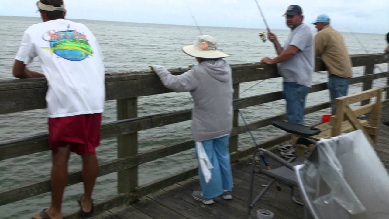 9 20 14 a walk down seaview fishing pier when spot are for Seaview fishing pier