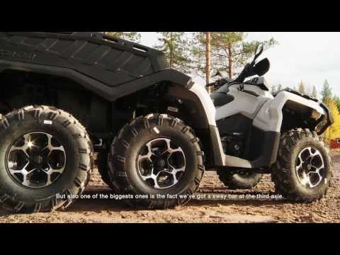 2015 Can-Am Outlander 6x6 ATV Features - 6-FEEL DRIVE