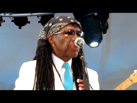Nile Rodgers&Chic, Everybody Dance, Damrosch Park, NYC 7-25-12