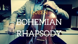 Queen - Bohemian Rhapsody for cello and piano (COVER)