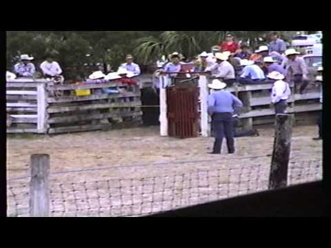 Calf Roping - Okeechobee, Florida Rodeo 1988