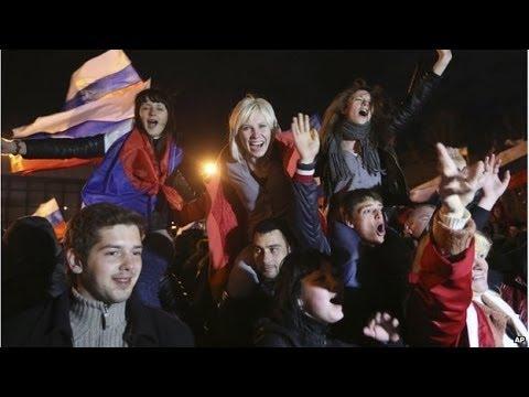 Crimea parliament declares independence from Ukraine - Crimeia declara independência da Ucrânia