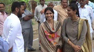 YSRCP Silpa Mohan Reddy family in Nandyala