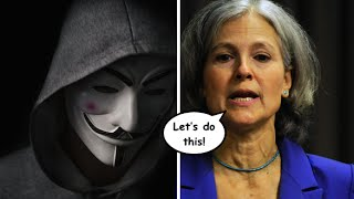 Anonymous Launches Initiative to End Media Blackout of Jill Stein