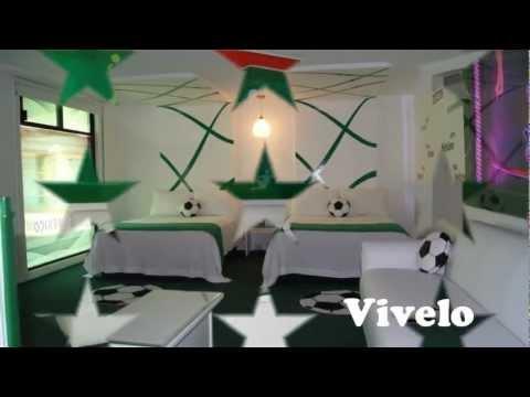 Habitaciones tem ticas futbol youtube - Habitaciones tematicas para ninos ...