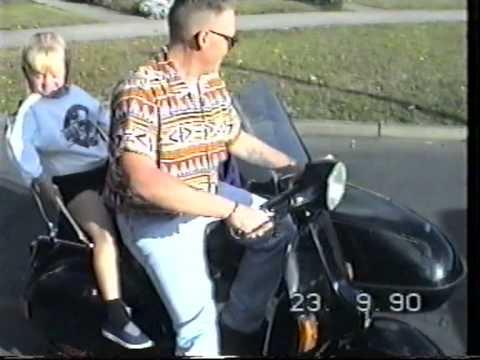 Vespa and Sidecar 1990