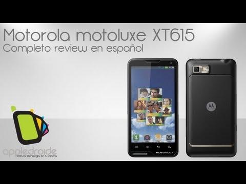 Motorola Motoluxe XT615 completo análisis en español