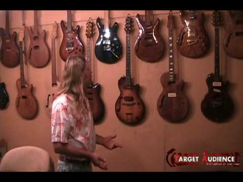 Luthier interview in his custom guitar shop Cherokee Guitar Works in Woodstock, GA