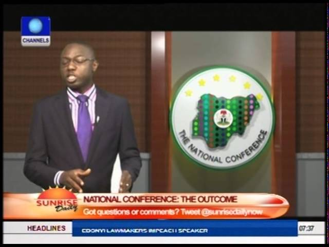 National Conference Resolutions Give More People Stake In Nigeria - Nyiam  Part1