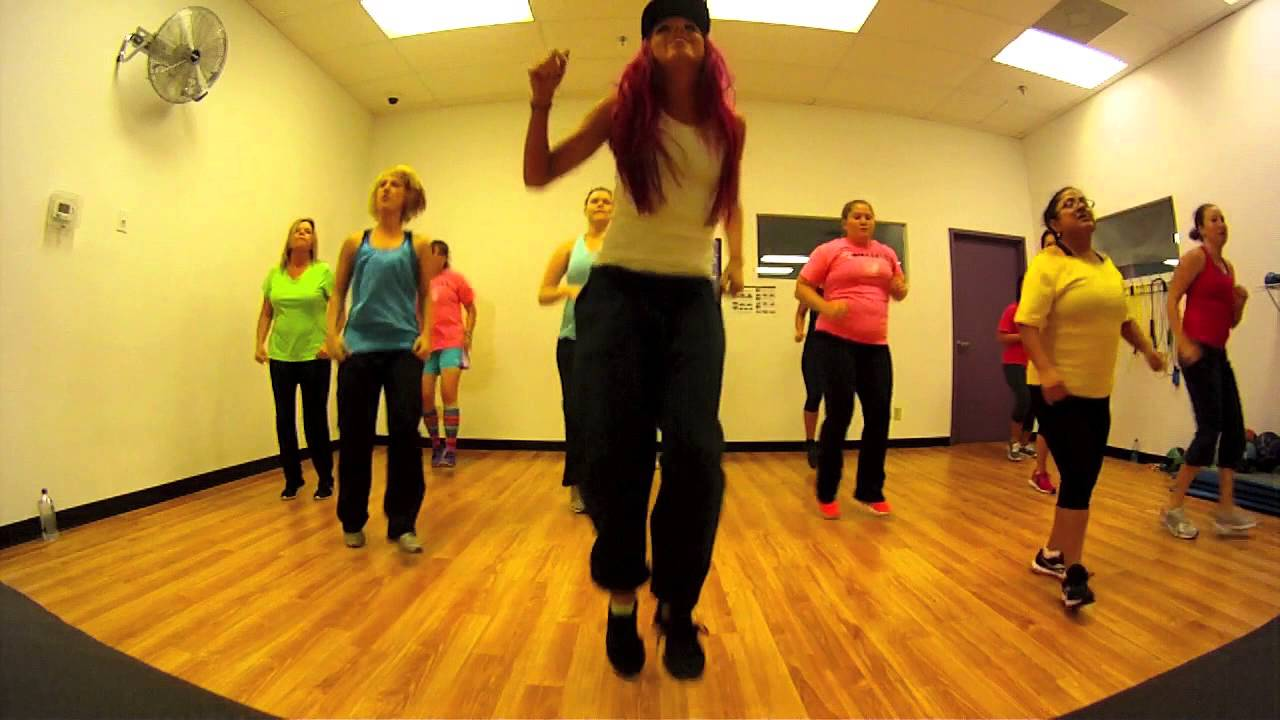Let The Bodies Hit The Floor Drowning Pool Zumba With