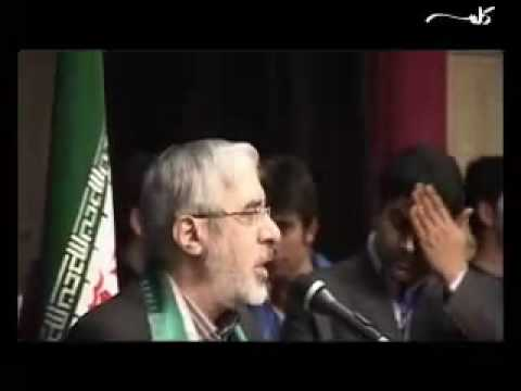 Khatami supporting Mousavi in Iran Election