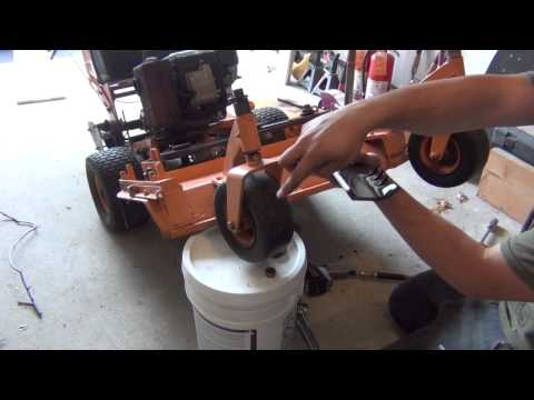 Scag lawn mower tune up