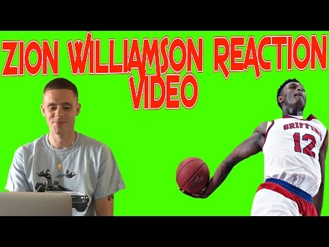Professor reacts to Zion Williamson