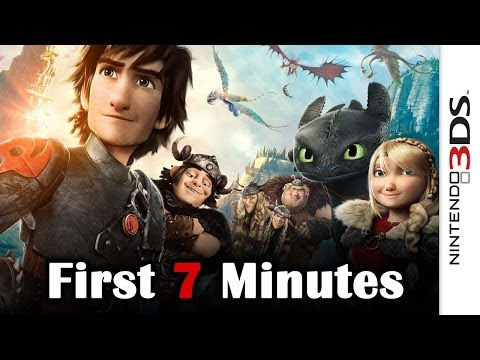 How To Train Your Dragon 2 - First 7 Minutes (3DS)