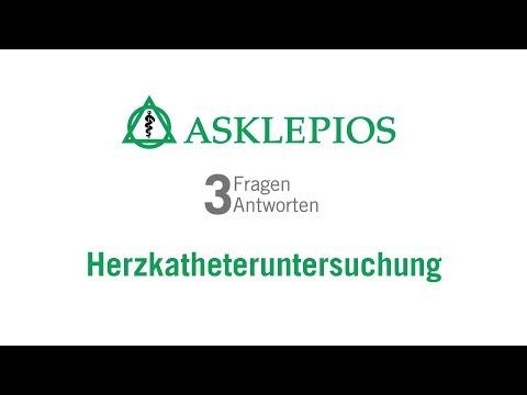 Herzkatheteruntersuchung: 3 Fragen 3 Antworten | Asklepios
