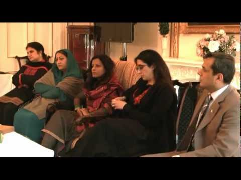 London Pakistani women Parliamentarians delegation discussed women empowerment