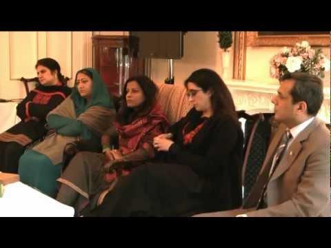 London Pakistani women Parliamentarians delegation discussed women empowerment