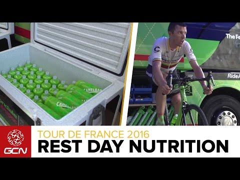 What Do Tour De France Riders Eat On A Rest Day? With Cannondale-Drapac | Tour De France 2016