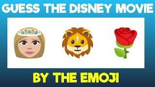 Can You Guess The Disney Movie By The Emojis? | Emoji Puzzles[Spot&Find]