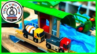 BRIO METRO TRAIN CITY! With Thomas and Friends! Fun Toy Trains for Kids!
