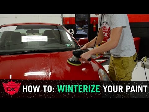 How to Prep Your Car's Paint for Winter