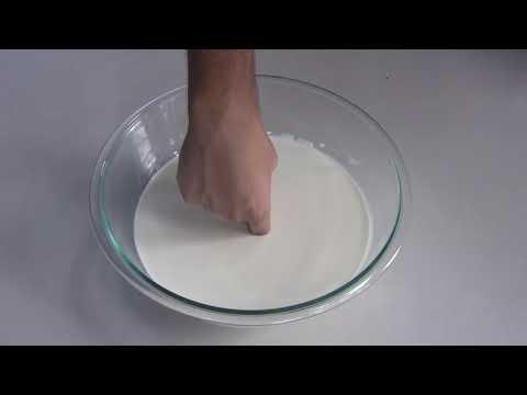 DINKITS: ¿Sólido o líquido? ¡Descubre los fluidos No Newtonianos! 💡 Experimentos caseros.