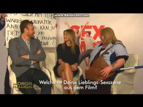 Circus Halligalli: Sabine does Learning English mit Cameron Diaz & Jason Segel