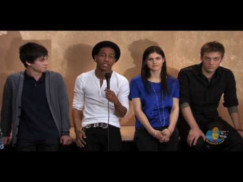 Meet The Stars of Percy Jackson and The Olympians Video