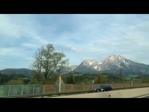 A9 Upper Austria - Trip South Along this major toll Road of Europe