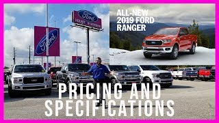 2019 Ford Ranger Updates and Pricing (ALL NEW)