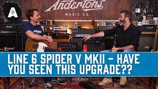 Line 6 Spider V MkII Guitar Amps - They've Had An Upgrade, What Do You Think?