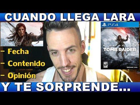 ¡¡¡BIENVENIDA A CASA!!! RISE OF THE TOMB RAIDER PS4 - Hardmurdog - Fecha - Contenido extra - Español